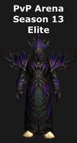 Warlock PvP Arena Season 13 Elite Set
