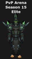 Warlock PvP Arena Season 15 Elite Set
