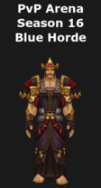 Warlock PvP Arena Season 16 Horde Set