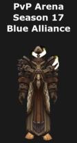 Warlock PvP Arena Season 17 Alliance Set