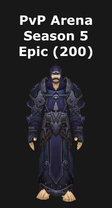 Warlock PvP Arena Season 5 Epic Set (200)