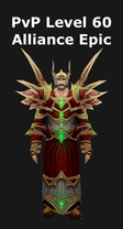 Warlock PvP Level 60 Alliance Epic Set