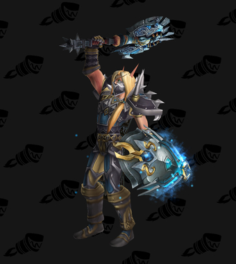 Warrior PvE Tier 1 Male Set