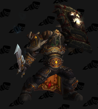 Warrior PvE Tier 10.5 Male Set