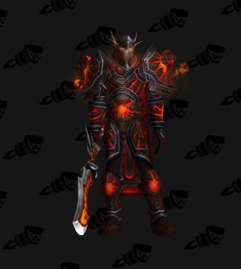 Warrior PvE Tier 12 Heroic Male Set