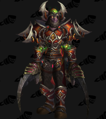 Warrior PvE Tier 14 Heroic Male Set