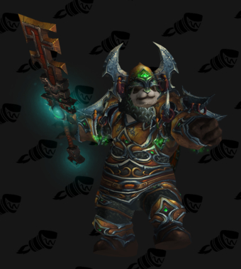 Warrior PvE Tier 14 LFR Male Set