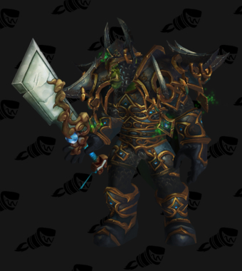 Warrior PvE Tier 14 Male Set