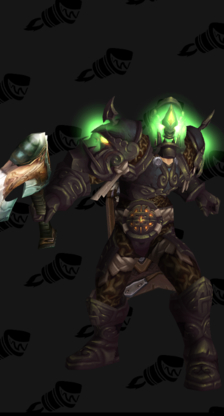 Warrior PvE Tier 15 Male Heroic Set