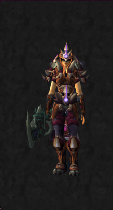 Warrior PvE Tier 16 LFR Female Set