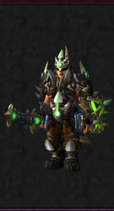Warrior PvE Tier 16 Mythic Female Set