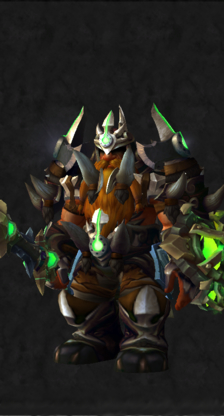 Warrior PvE Tier 16 Mythic Male Set