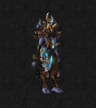 Warrior PvE Tier 16 Heroic Female Set