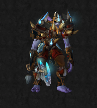 Warrior PvE Tier 16 Heroic Male Set