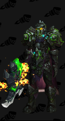 Warrior PvE Tier 17 Heroic Female Set