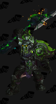 Warrior PvE Tier 17 Heroic Male Set