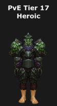 Warrior PvE Tier 17 Heroic Set