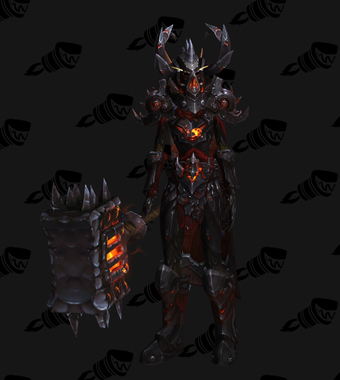 Warrior PvE Tier 17 Mythic Set