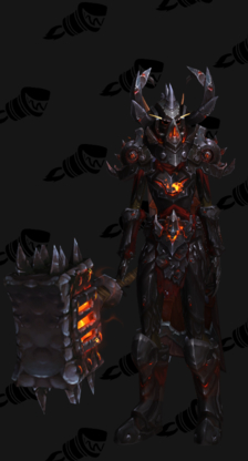 Warrior PvE Tier 17 Mythic Male Set