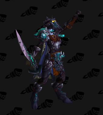 Warrior PvE Tier 17 Normal Set