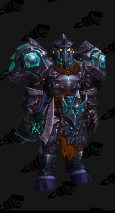 Warrior PvE Tier 17 Normal Male Set