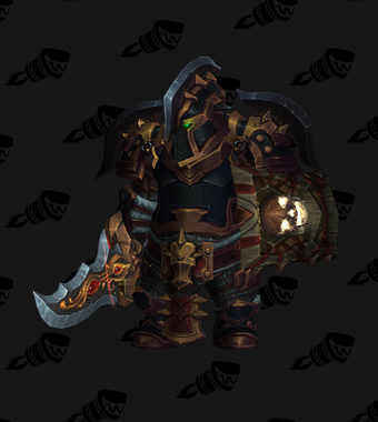 Warrior PvE Tier 18 Heroic Set