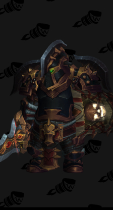Warrior PvE Tier 18 Heroic Male Set