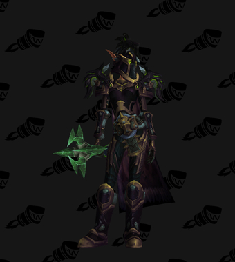 Warrior PvE Tier 18 Mythic Set