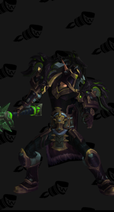 Warrior PvE Tier 18 Mythic Female Set