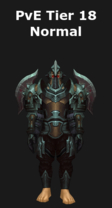 Warrior PvE Tier 18 Normal Set