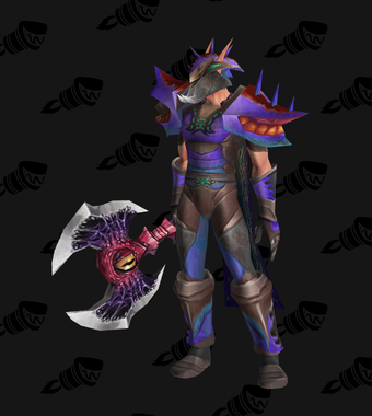 Warrior PvE Tier 2.5 Male Set