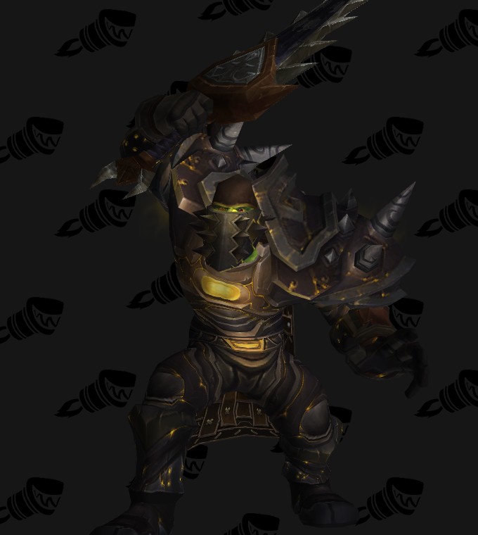 transmogrification warrior pve tier 6 set legion 715