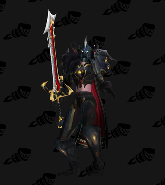 Warrior Transmog Valorous Dreadnaught Battlegear PvE Tier 7.5 Female Set