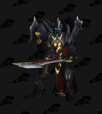 Warrior Transmog Valorous Dreadnaught Battlegear PvE Tier 7.5 Male Set