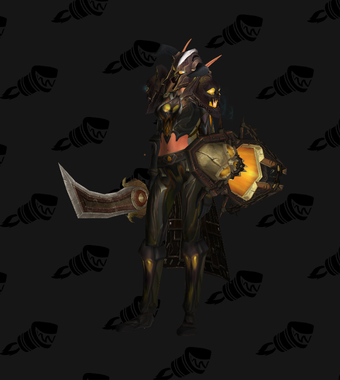 Warrior Transmog Heroes' Dreadnaught Battlegear PvE Tier 7 Female Set