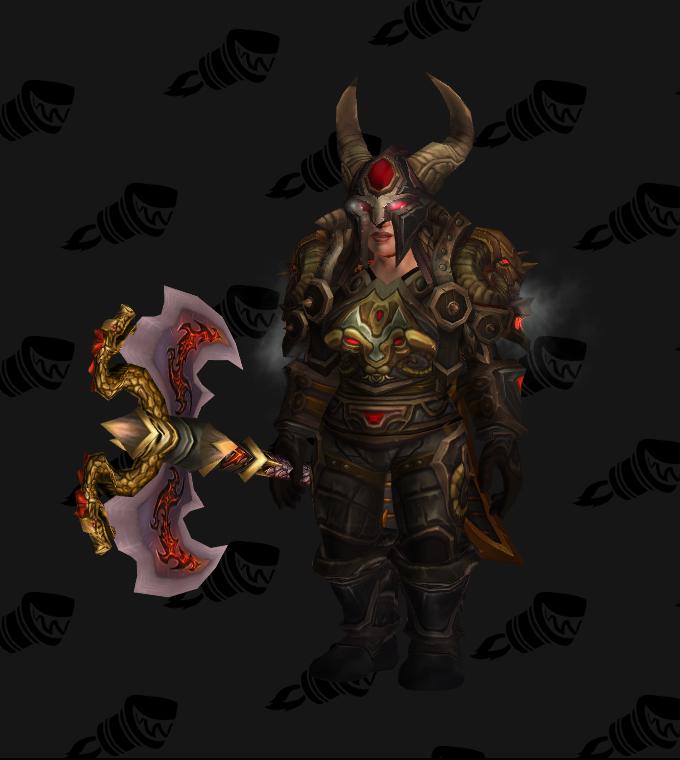 Conqueror's Siegebreaker Battlegear Warrior Transmog (PvE