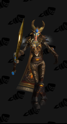 Warrior PvE Tier 8 Female Set