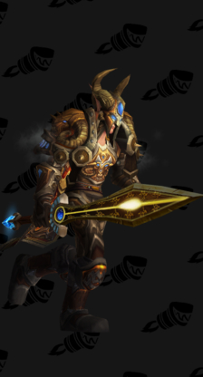 Warrior PvE Tier 8 Male Set