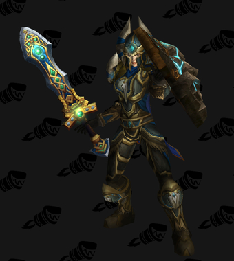 Warrior PvE Tier 9 Alliance Female Set