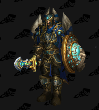 Warrior PvE Tier 9 Alliance Male Set