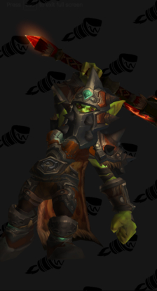 Warrior PvE Tier 9 Horde Female Set