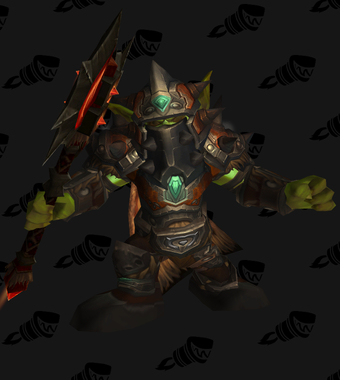 Warrior PvE Tier 9 Horde Male Set