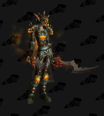 Warrior PvE Arena Season 10 Elite Female Set