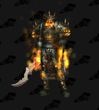 Warrior PvP Arena Season 10 Elite Male Set