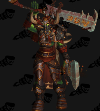 Warrior PvE Arena Season 11 Elite Female Set