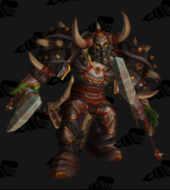 Warrior PvP Arena Season 11 Elite Male Set