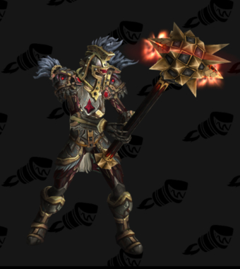 Warrior PvE Arena Season 12 Blue Female Set