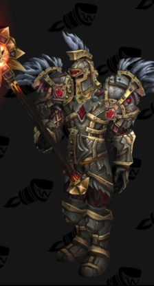 Warrior PvP Arena Season 12 Blue Male Set