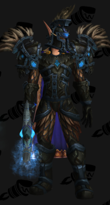 Warrior PvP Arena Season 12 Elite Male Set