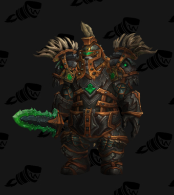 Warrior PvP Arena Season 12 Male Set
